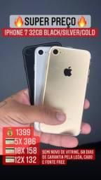iPhone 7 32gb - seu usado vale como entrada