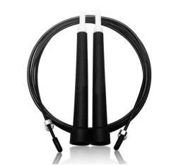 Corda Pular Com Cabo De Aço Crossfit Speed Rope 3m