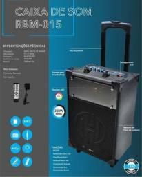 Caixa de Som Hoopson RBM015, Caixa de Som Bluetooth