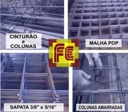 Coluna / Cinturão / Malha / Sapata / Arame : Ferragens Prontas