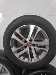 Roda aro 17 da Fiat Toro