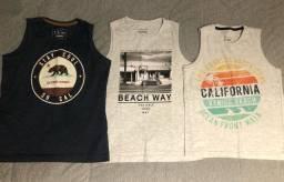 Camisas infantis (8 anos)