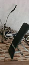 2 aparelhos para exercícios