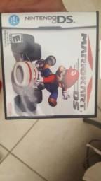 Caixa com manual Nintendo Ds