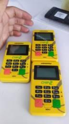 Máquinas de cartão com chip