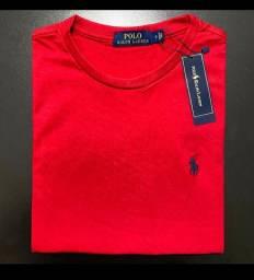 Camiseta Importada Polo Ralph Lauren Vermelha