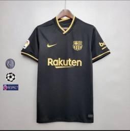 Camisa Barcelona Preta 2020/2021!