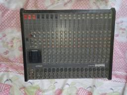 mesa de som sound tech 16 canal