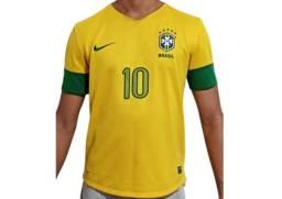 Camisa Nike Seleção Brasil 2013 nº 10 - Original