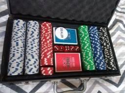 Maleta Jogo de Poker 300 fichas