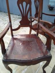 Cadeira com braço chipandelle
