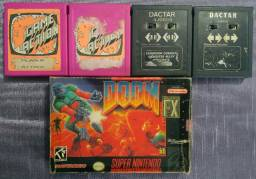 Jogos Antigos Atari e Super Nintendo