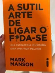 Livro A ARTE DE LIGAR O F*ODA-SE