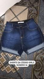 Shorts da código girls