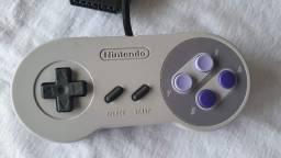 Controle Super Nintendo Original Novo