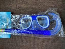 Mascara de mergulho infantil