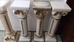 Pedestal suporte para decoração