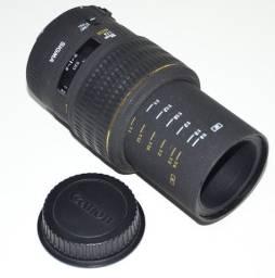 Lente Sigma Canon DG Macro 105 mm f: 2.8 Macro Silenciosa Com Defeito