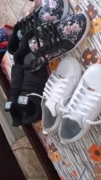 Calçados com preço único.