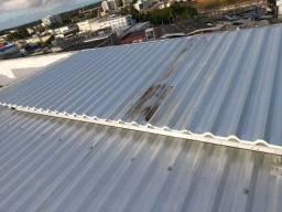Telhado com telha de Zinco Zincalume