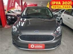 Ford Ka Se 1.0 2020 - Ipva 2021 Pago