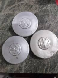 3 tampinha de ferro da roda VW boca de fogao