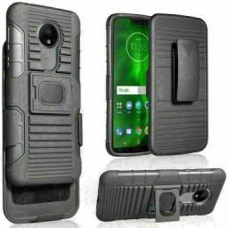 Capa Case anti impacto Motorola + Suporte Saque Rápido entrega gratuita em toda baixada
