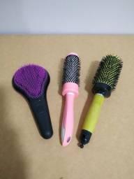 Escovas de cabelo