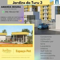 Título do anúncio: A= Jardins do Turu 3 - apartamentos de 2 e 3 quartos com elevador