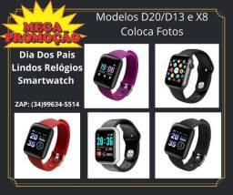 Lançamento Dia Dos Pais Lindos Relógios Digitais Smartwatch Coloca Fotos