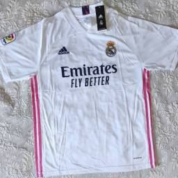 Pronta entrega! Camisa Real Madrid 20/21- Tam GG-