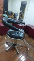 Cadeira de barbeiro, lavatório