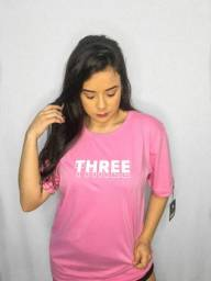 Camiseta Three 3D