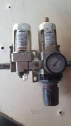 Filtro lubrificador para ferramenta pneumática