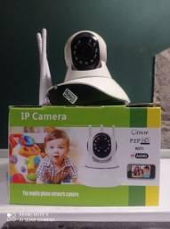 Camera robô 360 com áudio HD wi-fi