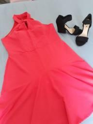 Vestido e sandália