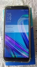 Celular asus zenfone 64gb com nota e garantia