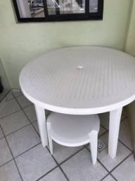 Mesa jardim com 4 cadeiras