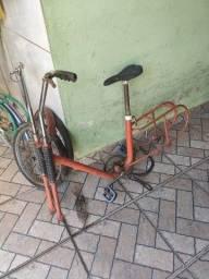 Quatro bike Caloi antiga. T
