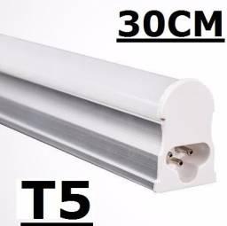 Led tubular t5 com calha acoplada