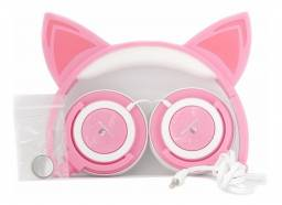 Fones De Ouvido Cat Ear Headphones H´maston