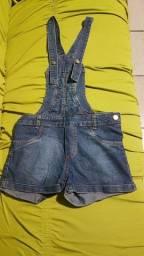 Macacão jeans infantil