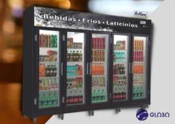 Expositor Vertical Linha Economic Cinco Portas RF024 Frilux