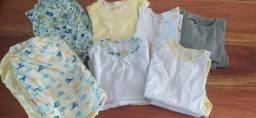 10 pijamas infantil novos