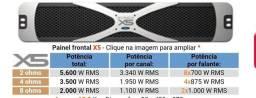X5 Studio R 5.600 watts RMS Stereo