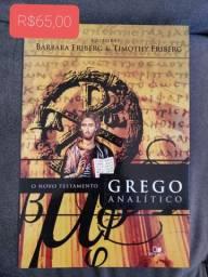 Livro Novo Testamento Grego Analítico