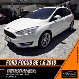 Ford Focus Hatch SE 1.6 2018 - Único Dono