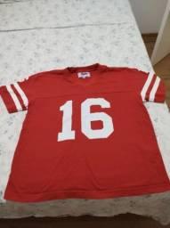 Camiseta Liga Retrô Futebol Americano San Francisco 49ers