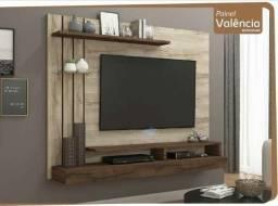Promoção - Painel para TV (Prateleira de Vidro) - Apenas R$399,00