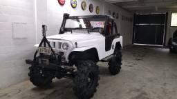 Jeep Willys pronto pra trilha